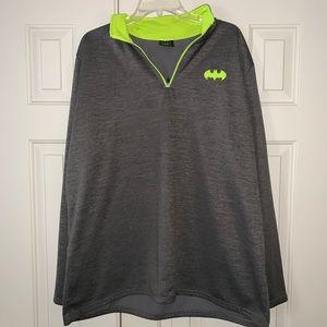 EUC Batman 1/4 zip  Pullover Top Size 2XL.